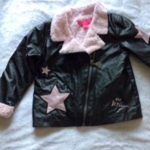 Betsey Johnson Toddler Girl Bomber Jacket  2T